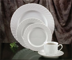 White Swirl China