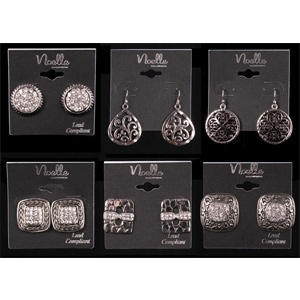 Noelle Enterprises Hampton Jewelry Collection Earrings
