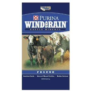 Purina's Wind and Rain® Fescue Minerals