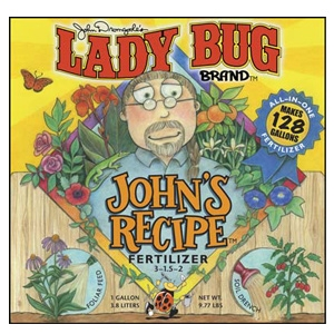 Lady Bug Brand John's Recipe Fertilizer