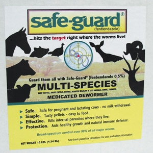 Safe-Gaurd Multi-Species Pellets