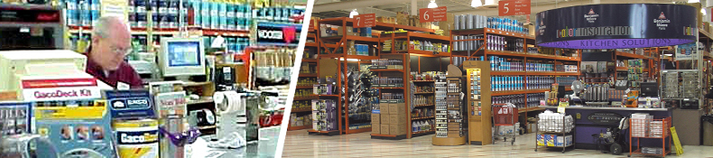 Paint & Stain Department Banner Image