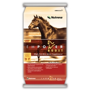 Empower™ Boost High-Fat Rice Bran Supplement for Performance Horses and Hard Keepers