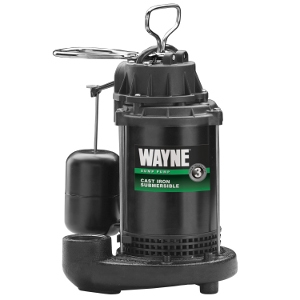 Wayne CDU800 1/2 HP Cast Iron Sump Pump