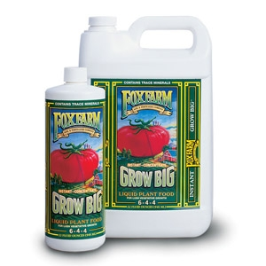 Fox Farms Grow Big® Liquid Plant Food (6-4-4)
