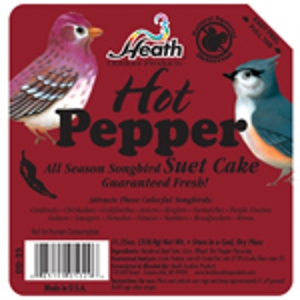 Heath Hot Pepper Premium Suet Cake