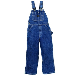 Key Work Wear Youth Premium Washed Bib Overall