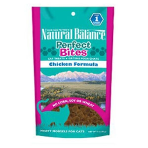 Natural Balance Perfect Bites Chicken Formula Treats