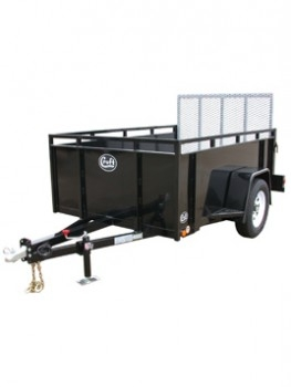 Open Trailer, 5 x 9, with ramp
