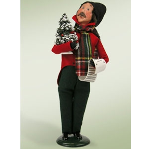 Buyer's Choice Caroling Man
