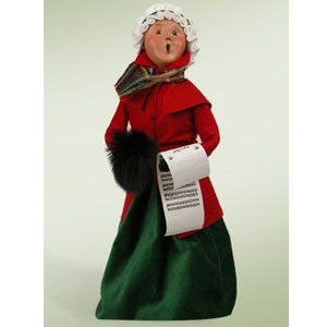 Buyer's Choice Caroling Woman