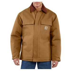 Carhartt Men's Duck Traditional Coat/Arctic Quilt Lined