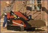 Mini Skid Steer, Tracked, with Flat or Tooth Bucket