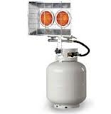 Heater, tank top propane, 20,000 BTU