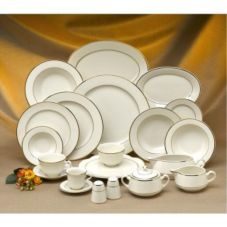 China - Ivory w/ Trim (Silver or Gold)