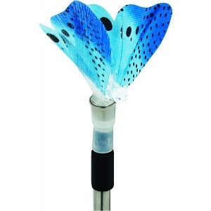 Butterfly Solar Stake Light Lawn Ornament