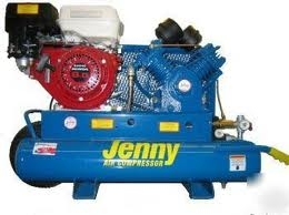 Compressor, Gas Wheeled Portable