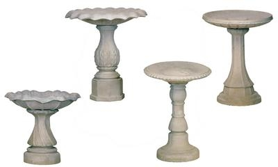 Assorted Birdbaths