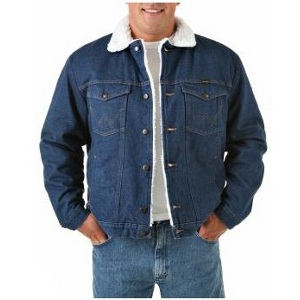 74255 Wrangler® Western Sherpa Lined Denim Jacket
