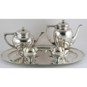 4 Piece Silver Coffee/Tea Set