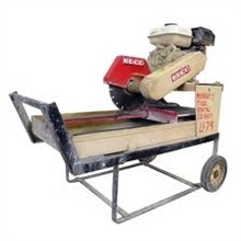 Saw, Paver Brick - Gas
