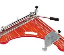 Tile cutter, VA, vinyl tile