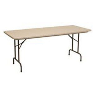 Polylite® Lightweight Plastic Folding Table