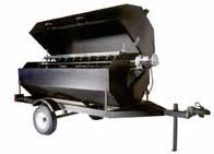 Towable Grill and or Rotisserie, enclosed.