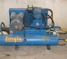 Air Compressor 1.5 hp twin tank