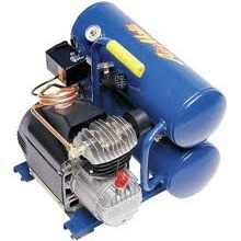 Air compressor, 3/4 hp electric