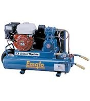 Air Compressor, 5 hp gas powered