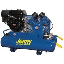 Air compressor, 8 hp gas powered