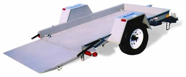 9' Tilt Bed Trailer, Redi Haul