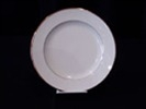 Plate, luncheon, ivory