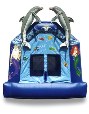 Little Mermaid Inflatable Bouncer