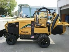 Stump Grinder, 115 HP Vermeer