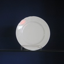 White Salad Plate