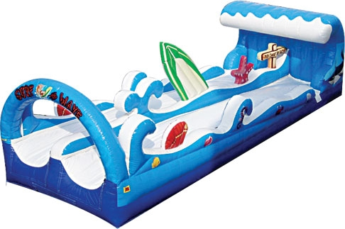 Surf & Wave Dual Lane Slip & Slide Inflatable