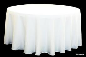 linen tablecloth, 120 inch round