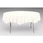 Table cover, poly-paper, 82 in round