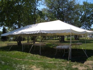20'x40' Canopy Tent