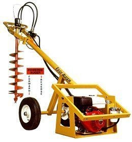 Easy Auger,  Self Propelled Auger