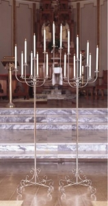 Candelabra Brass 9 light