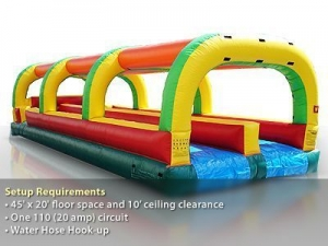 Inflatable Slip-'N'-Slide