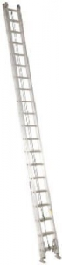 40' Fiberglass Extension Ladder