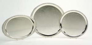 Assortment of Silver Trays