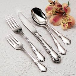 Chateau Flatware, Spoon, Knife, Fork