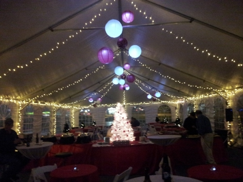 Lighted Wedding