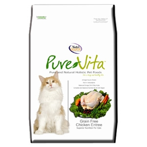 Pure Vita Grain Free Chicken Dry Cat Food