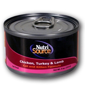 Nutri-Source Chicken, Turkey & Lamb Canned Cat Food